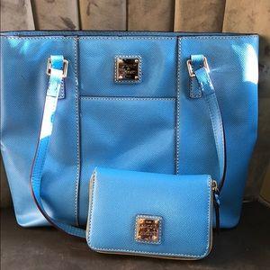 Dooney & Bourke purse with wallet